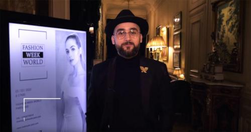 Interview avec Rosh Bakhchouch à Paris PFW20
