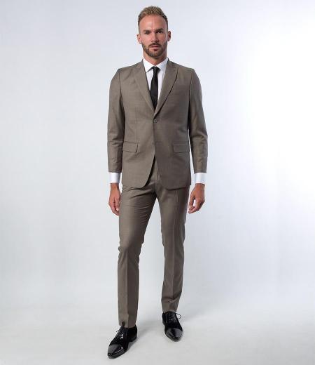 Costume Extra Slim tissus Haute de gamme