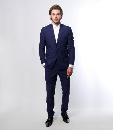 Costume Extra Slim Bleu Marine Style THom 0419