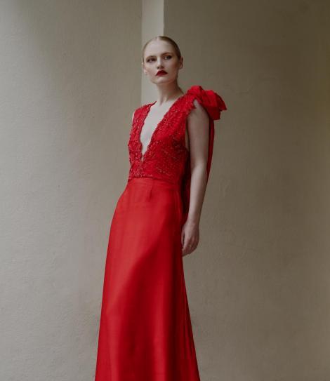 Robe de soirée princesse de luxe