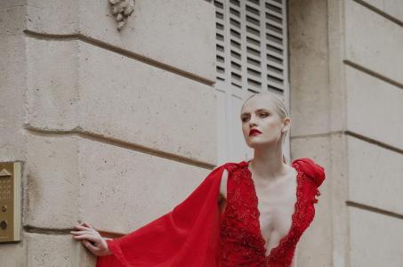 Evening dress princesse de luxe